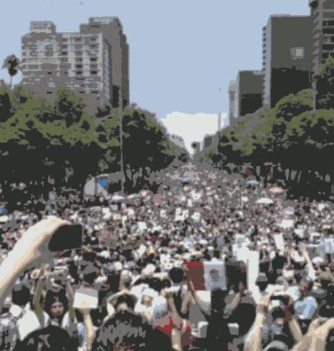 ¿Cuánta actividad generó la marcha antiPeña?