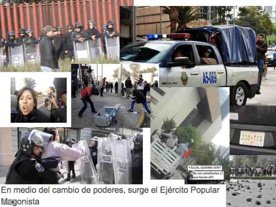 Disturbios-Collage