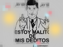 Meme: @PedroReyesM Ilustración: E.P.