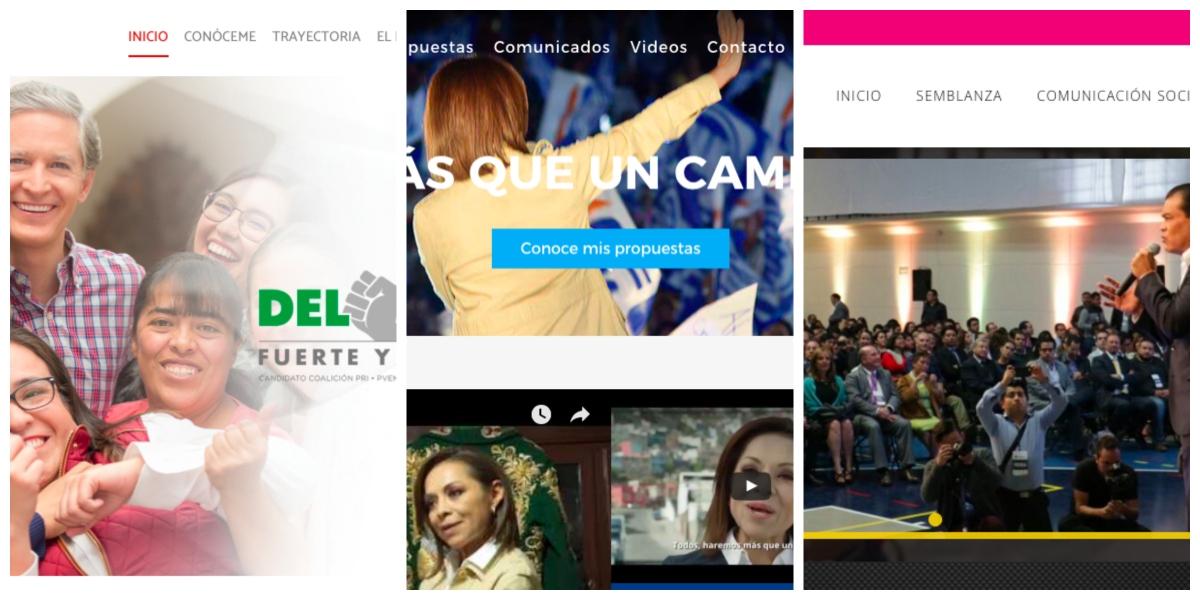 Un análisis de la funcionalidad de los sitios de los candidatos al Estado deMéxico