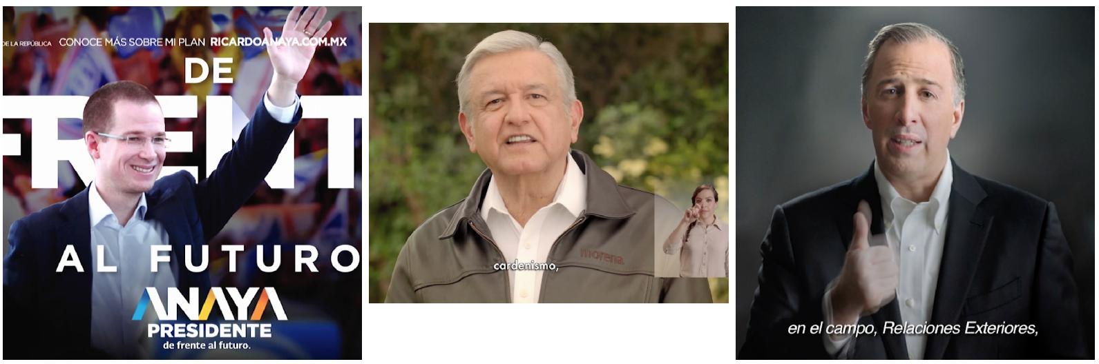 Meade vs. López Obrador vs. Anaya vs. Zavala | Semana 16 | Del 21 al 27 de marzo del 2018