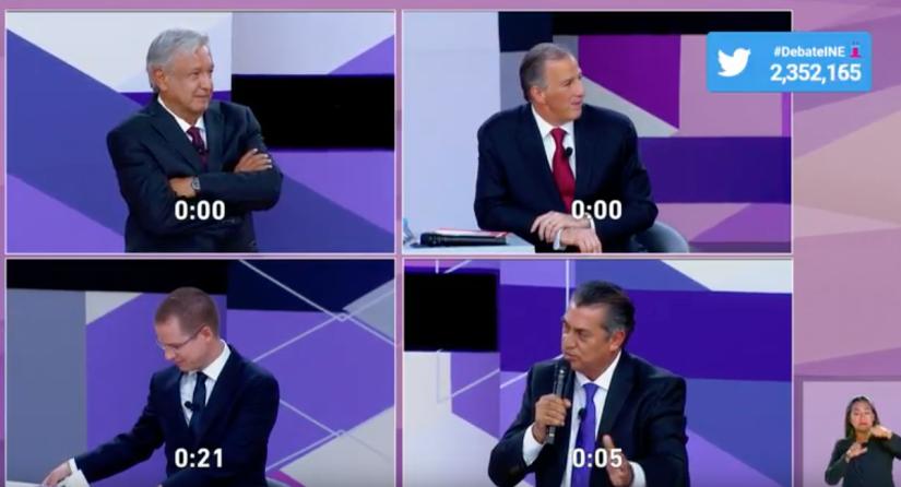 Esto buscaron los mexicanos en Google durante el segundo debatepresidencial